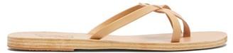 Ancient Greek Sandals Orea Leather Slides - Tan