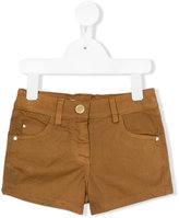Miss Blumarine denim shorts - kids - Cotton/Elastodiene - 4 yrs
