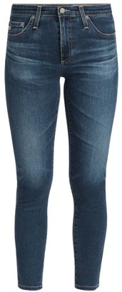 AG Jeans Prima Mid-Rise Ankle Cigarette Ankle Jeans