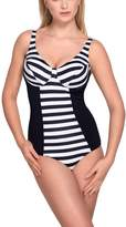 Vivisence 3101 women's one-piece swimsuit soft cups underwired