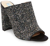 Betsey Johnson Astor Glitter Mules
