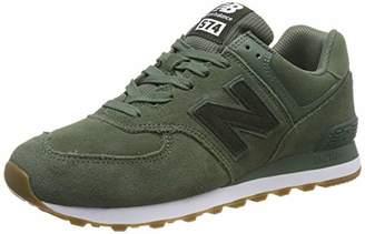 New Balance 574v2, Men Low-Top Trainers, Green (Green Green), 6.5 (40 EU) (40 EU)