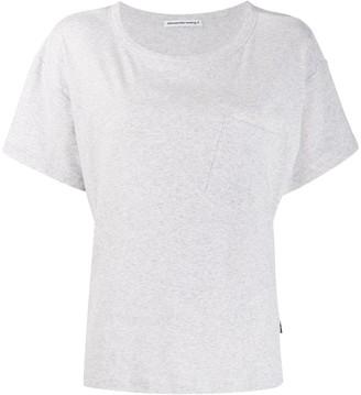 Alexander Wang slanted pocket T-shirt