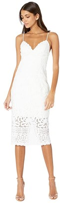 Bardot Gia Lace Dress (Ivory) Women's Dress