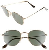 Ray-Ban 51mm Oval Aviator Sunglasses