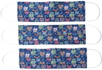 Rumour London Reusable Protective Cloth Masks With Integrated Filter In Liberty Print Together (Pack Of 3)