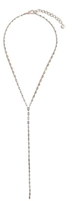 Shay Rose Gold And Diamond Sticks And Stones Infinity Baguette Necklace