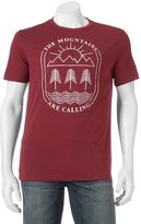 """Men's SONOMA Goods for LifeTM """"The Mountains Are Calling"""" Tee"""