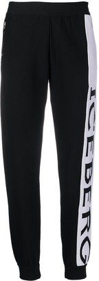 Iceberg side-logo track pants
