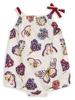 Gucci Baby's Sleeveless Butterfly Bodysuit