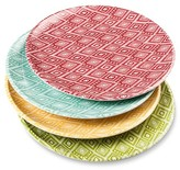 Mudhut Zaayan Melamine Dinner Plate Set of 4