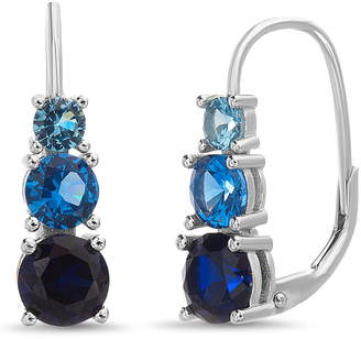 Lesa Michele Cubic Zirconia Drop Earrings