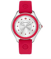 Michele Cape Topaz Watch w/Silicone Strap
