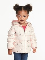 Old Navy Frost-Free Hooded Jacket for Toddler Girls