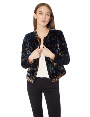 Rebecca Taylor Women's Solstice Velvet Jacket