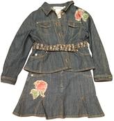 Christian Dior Denim skirt and jacket set