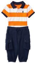 Ralph Lauren Infant Boys' Atlantic Polo & Pants Set - Sizes 3-24 Months