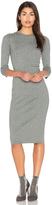 Bella Luxx Crossed Rib Sweater Dress