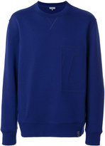 Lanvin L Embroidery Compact Jersey sweatshirt