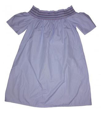 Tommy Jeans Blue Cotton Dresses