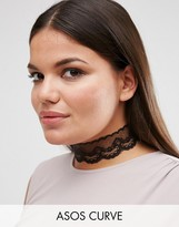 Asos NIGHT Lace Choker Necklace