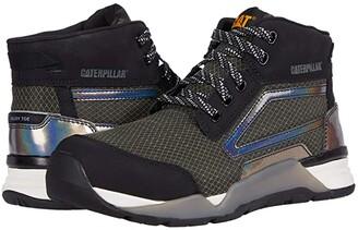 Caterpillar Sprint Mid Alloy Toe (Black) Women's Boots