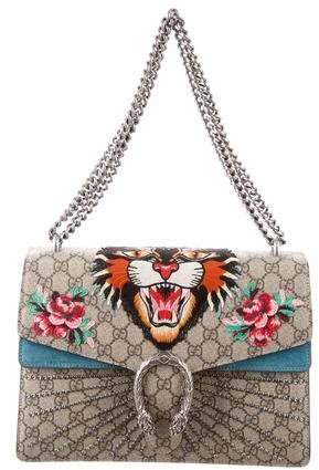 Gucci 2017 GG Angry Cat Medium Dionysus Bag