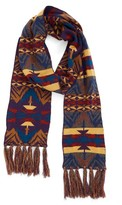 Pendleton Women's Echo Peaks Merino Wool Fringe Scarf