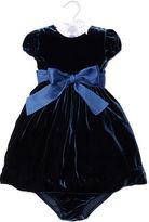 Ralph Lauren Velvet Party Dress & Bloomer