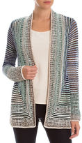 Nic+Zoe PETITE Striped Away Cardigan