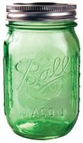 Ball Mason Jar Green Pint Regular Mouth (6 per Pack)