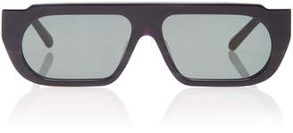 Karen Walker Monumental by Baldwin Acetate Square-Frame Sunglasses