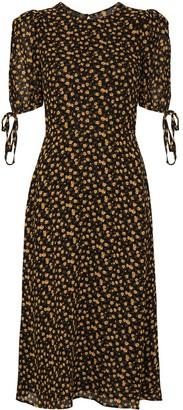Reformation Oakley floral-print midi dress