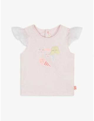 Billieblush Ice cream graphic cotton T-shirt 3-36 months