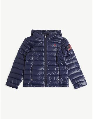 Ralph Lauren Hooded puffer coat 2-14 years