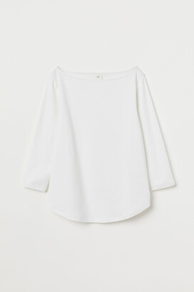 H&M Boat-neck Top