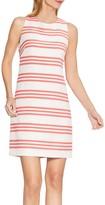 Vince Camuto Striped Textured Sheath Dress