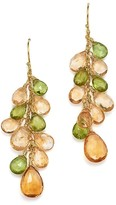 Bloomingdale's Citrine and Peridot Drop Earrings in 14K Yellow Gold