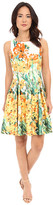 Christin Michaels Anabel Sleeveless Flare Dress