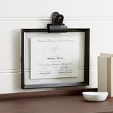 Crate & Barrel Stage 11x14 Document Frame and Frame Clip