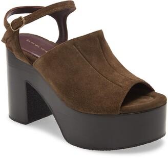 Dries Van Noten Platform Sandal