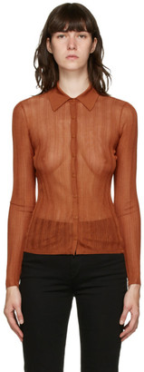 Rag & Bone Orange Pacey Cardigan