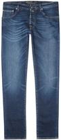 Jacob Cohën Blue Selvedge Slim-leg Jeans