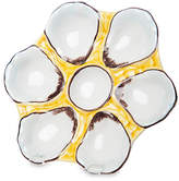 One Kings Lane Canary-Yellow Oyster Plate