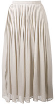 Fabiana Filippi pleated midi skirt - women - Silk/Cotton/Acetate - 42