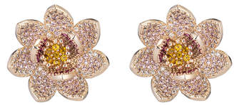 Eye Candy Los Angeles Eye Candy La Lotus Cz Crystal Stud Earring