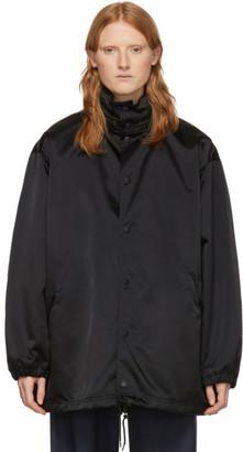 Balenciaga Black Symbolic Logo Jacket