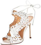 Kurt Geiger Horatio Laser Cut Heeled Sandals
