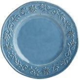 Pier 1 Imports Tuscan Scroll Blue Melamine Salad Plate