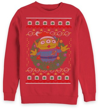Disney Toy Story Alien Holiday Pullover Sweatshirt for Adults